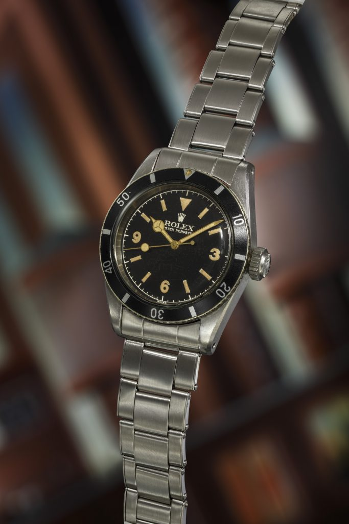 Rolex, Reference 6200 Submariner Big Crown
