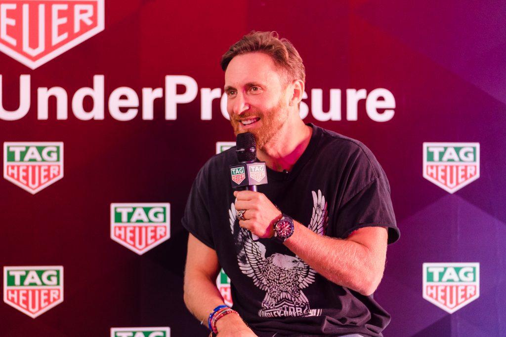 David Guetta se confie à TAG Heuer
