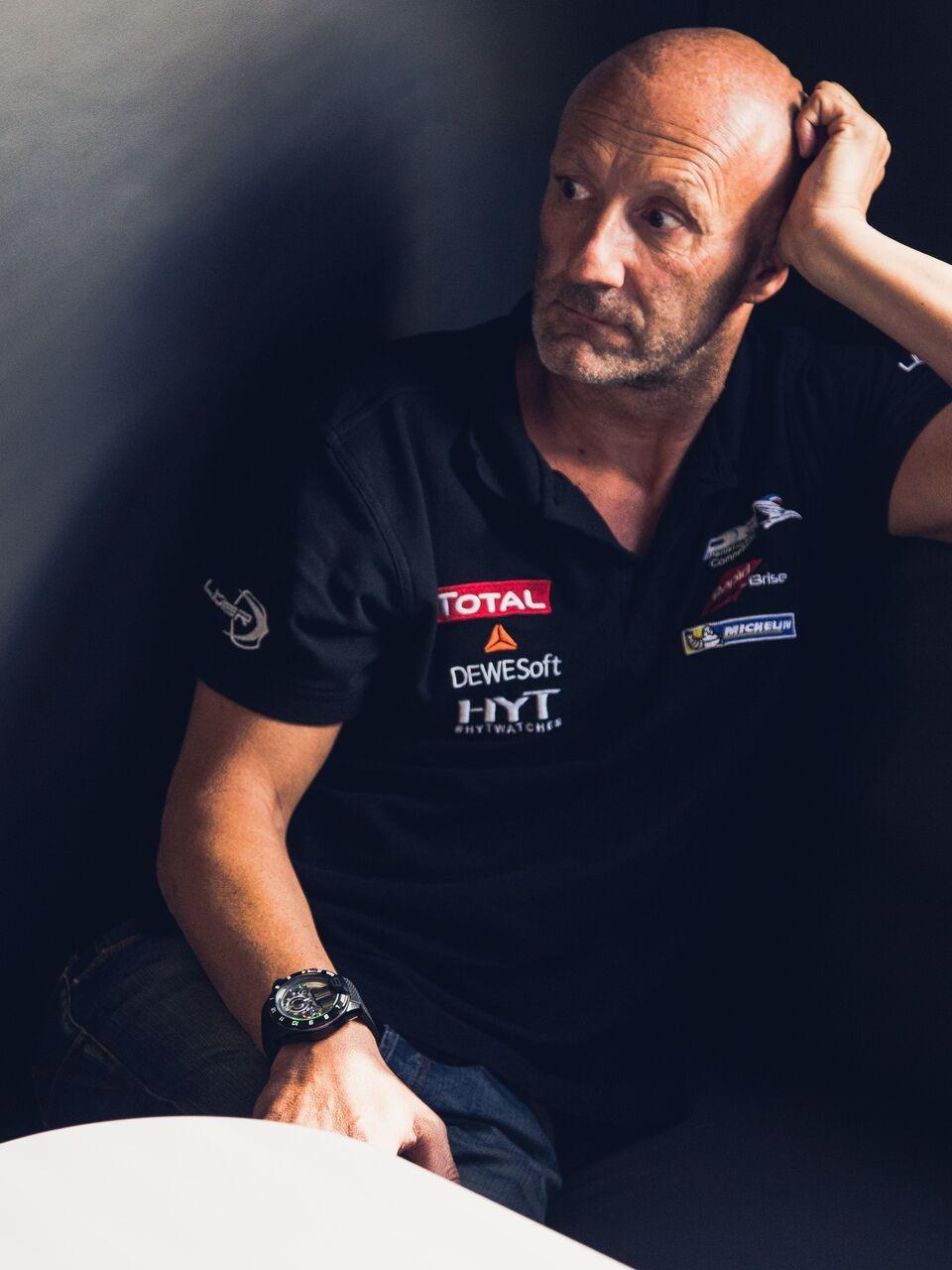 Fabien Barthez - Team Manager et pilote pour Panis Barthez Competition