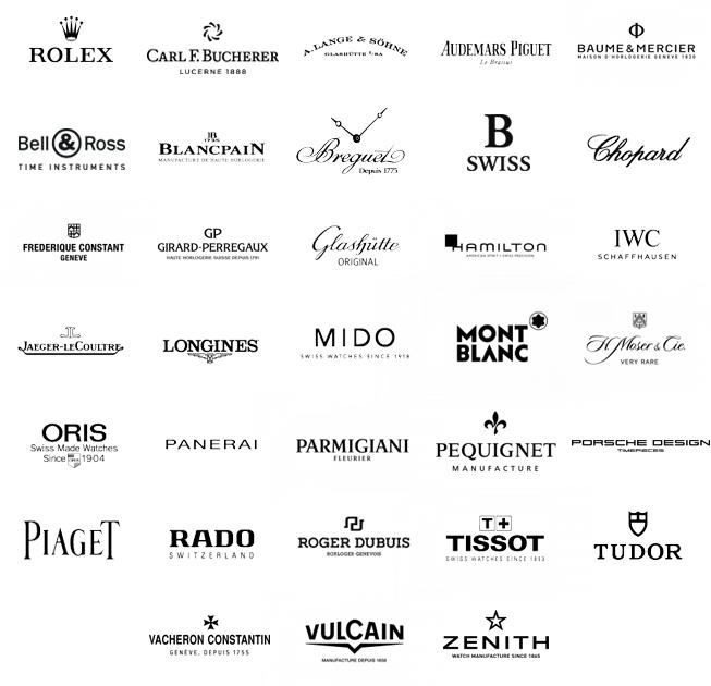 Marques horlogères de luxe