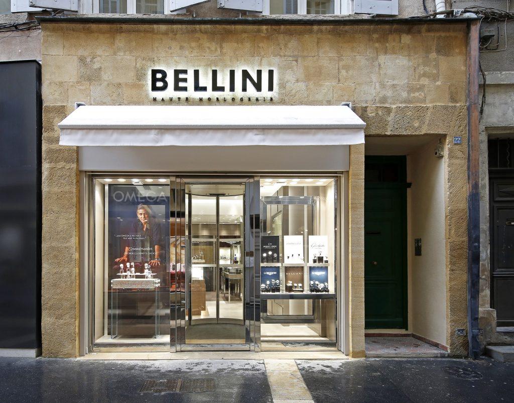 Bellini Haute Horlogerie, rue Fabrot, à Aix-en-Provence