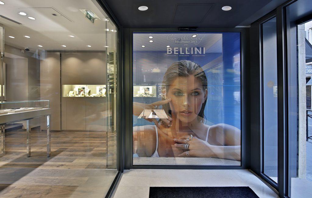 Camille Cerf, Miss France 2015, égérie de la Maison Bellini en 2017