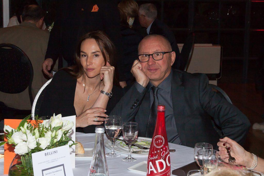Vanessa Demouy et Marcel Villegas, fondateur de Bellini Aix-en-Provence