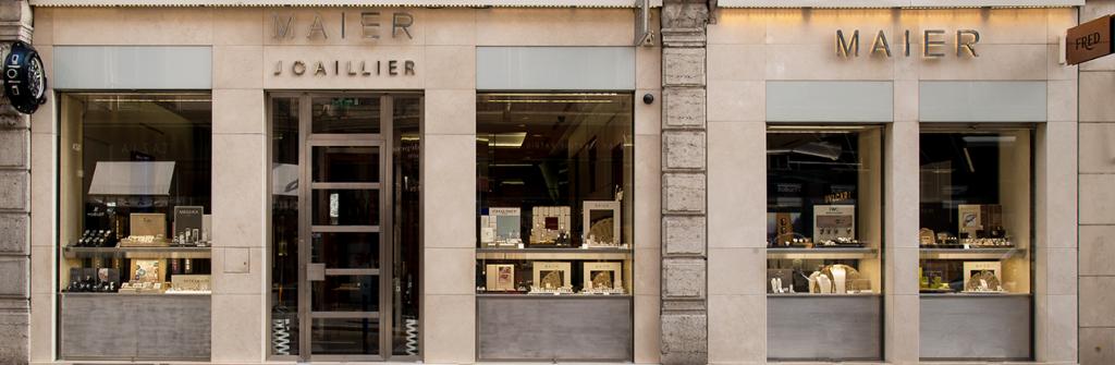 La boutique Maier Joaillerie