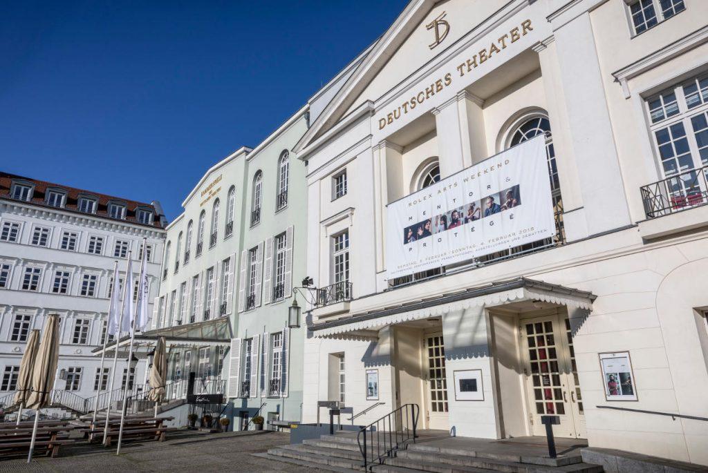 Rolex Arts Weekend at the Deutsches Theater - Berlin, February 4, 2018.
