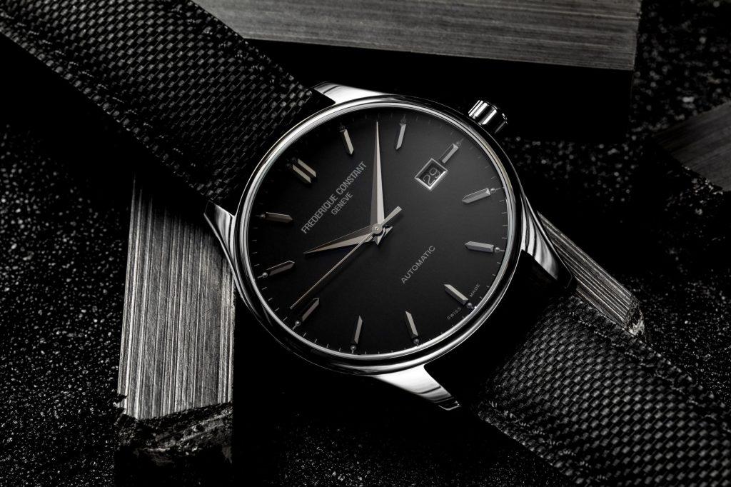 Frederique Constant Classic Index Automatique Black Line, spécial France
