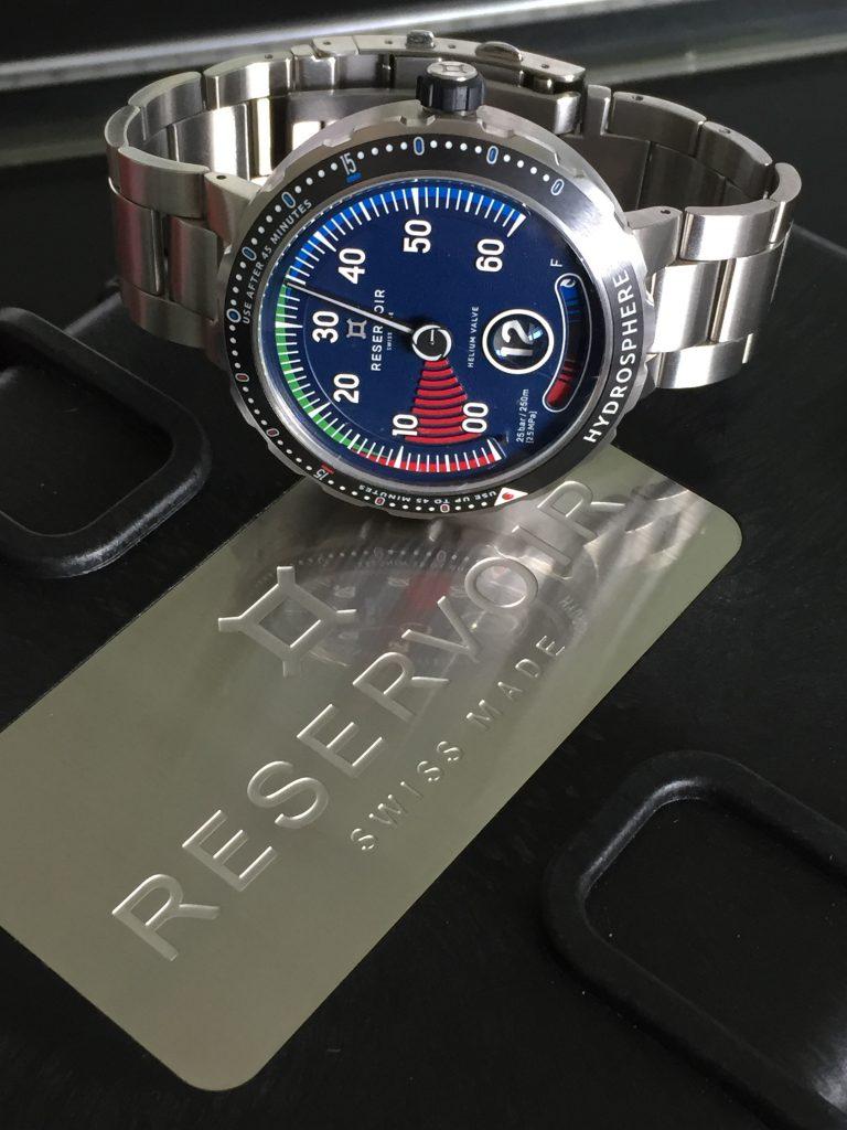 Reservoir présente sa vision de la montre de plongée. Et elle est très séduisante !