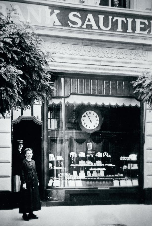 La première boutique Bucherer à Lucerne