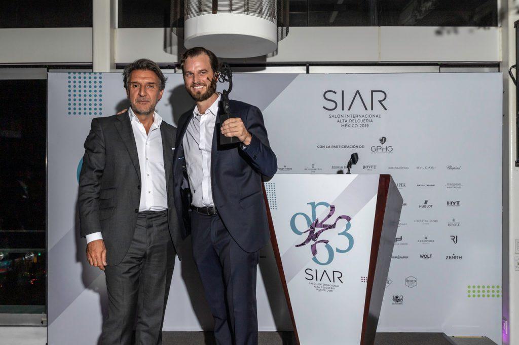 """Le Rhöne a gagné le """"PEOPLE'S Award"""" au SIAR 2019 avec MOÖN Limited edition ACT-ONE"""