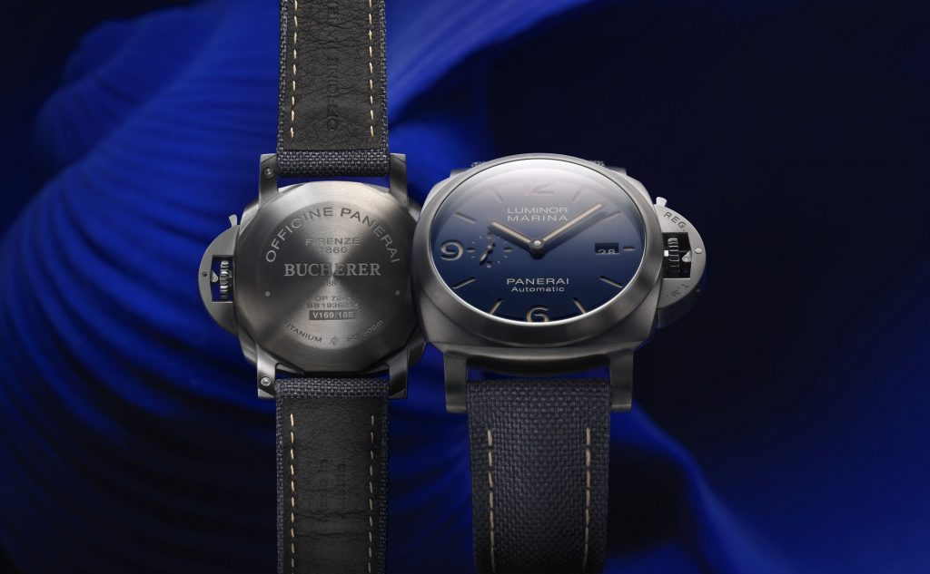Panerai Luminor Blue Edition PAM 01021