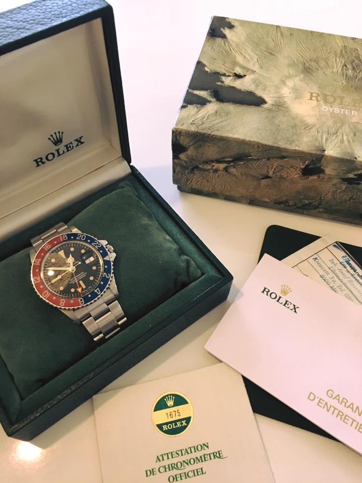 La Rolex 1675 de Pierre Barreda