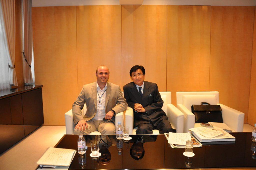 En compagnie de M. Shinji Hattori à Tokyo
