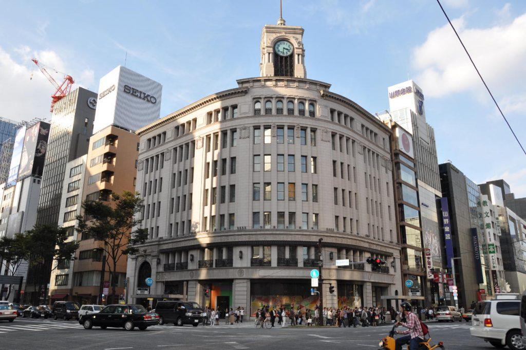 Wako, l'immeuble historique du groupe Seiko, à Tokyo