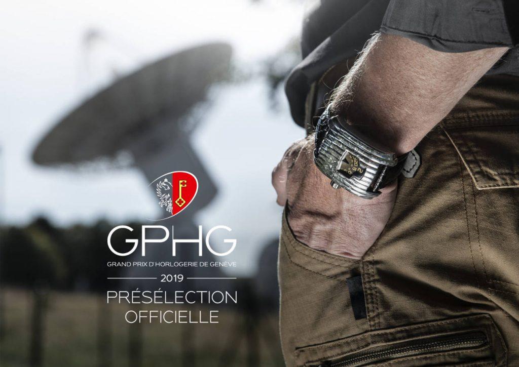 La David Rutten Streamline est présélectionnée pour le Grand Prix d'Horlogerie de Genève