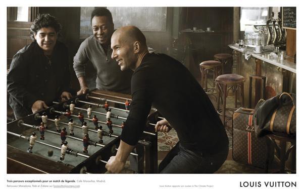 Louis Vuitton, marque numéro 1 des footballeurs