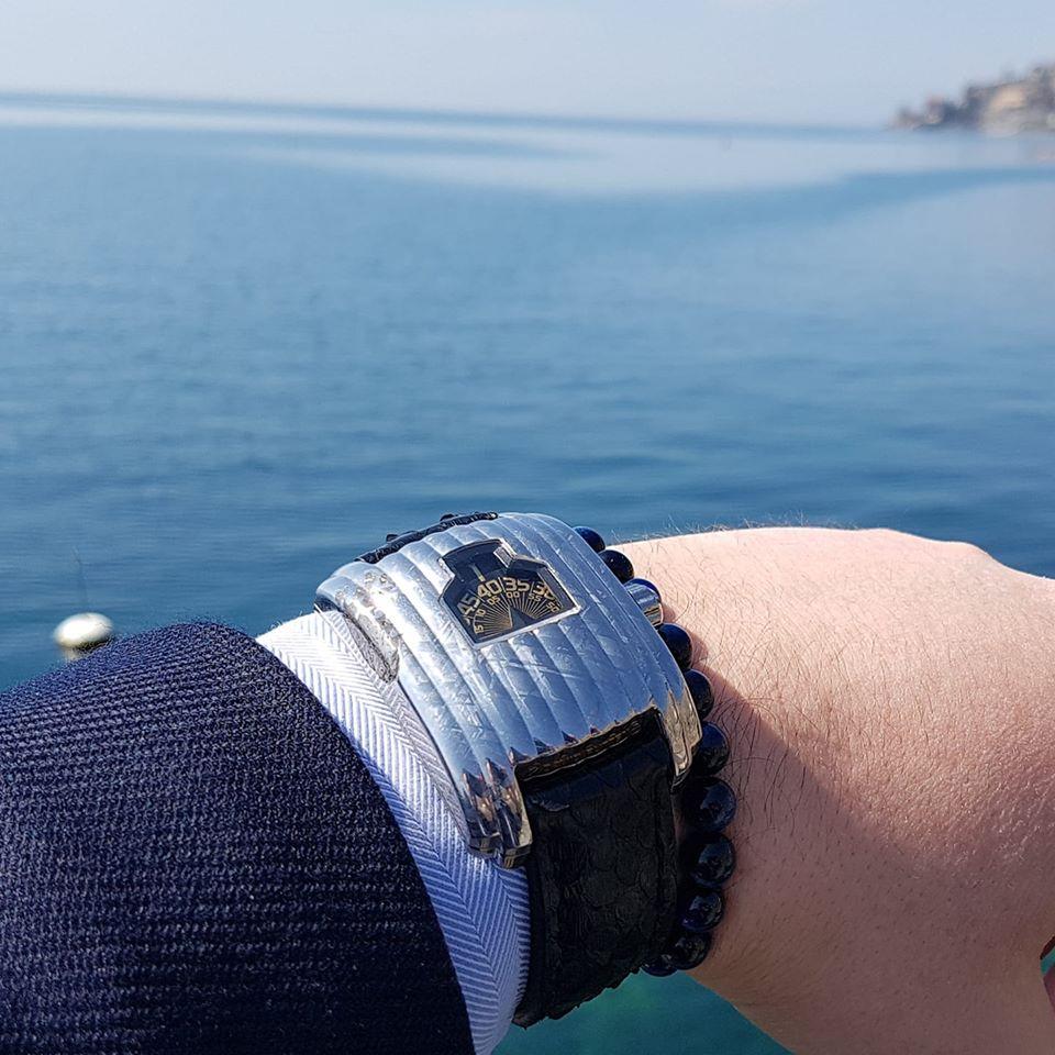 La montre de Malik Bahri