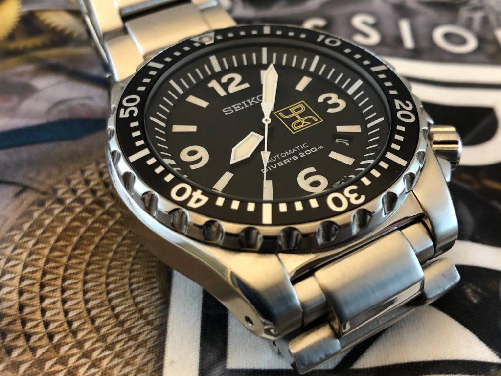 Une Seiko SPORK édition Passion Horlogère en série limitée à 39 exemplaires