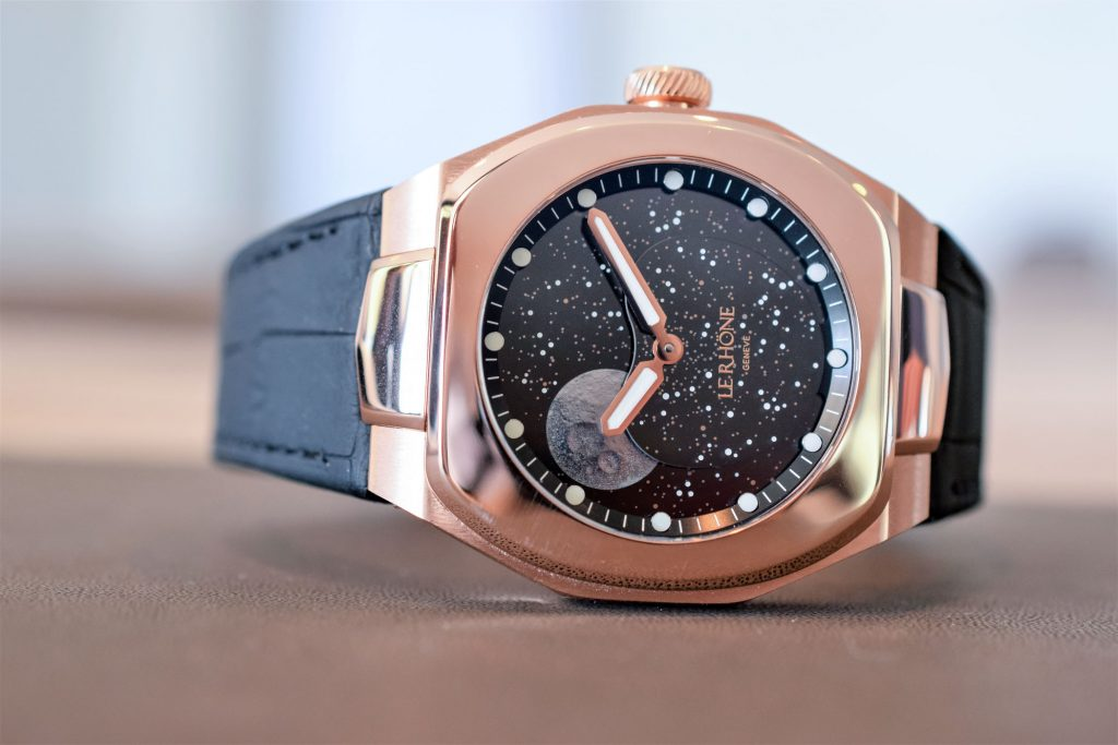 Le Rhöne Möon rose gold - Crédit photo Watchlounge