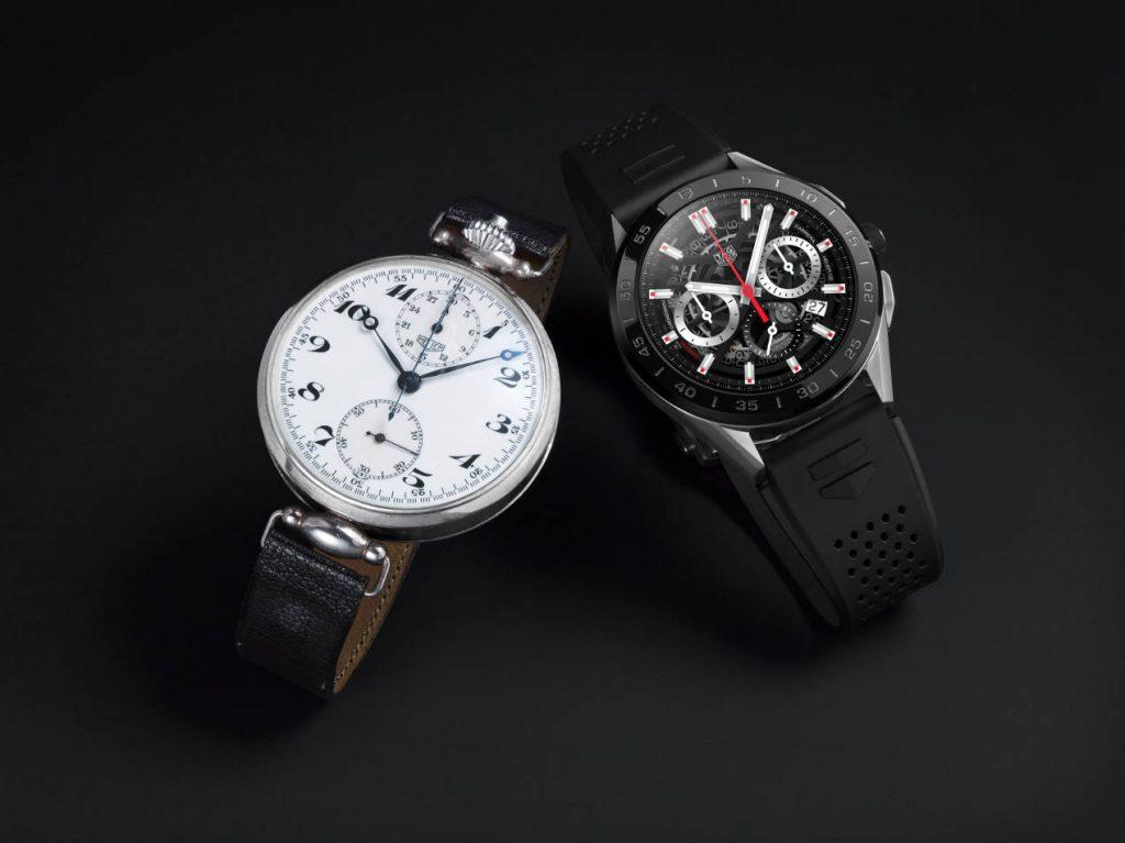 Une montre connectée, digne héritière de l'horlogerie passée.