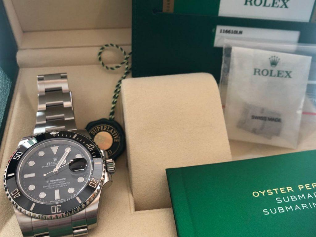 La Rolex Submariner 116610
