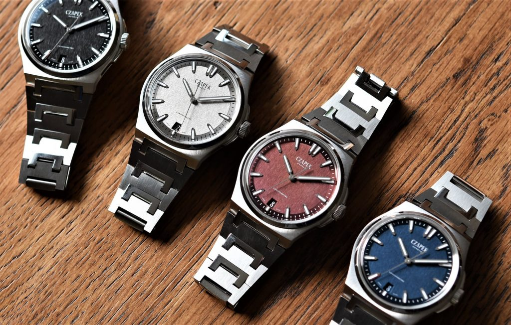 La collection de Czapek Antarctique au grand complet