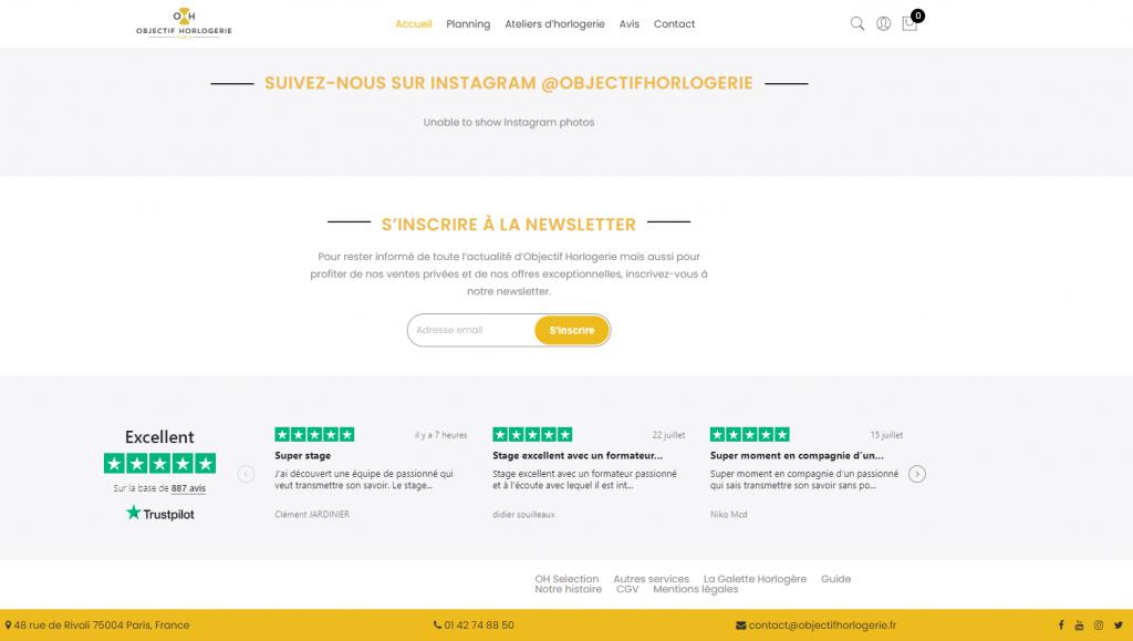 """Le label """"Excellent"""" délivré par Trustpilot"""
