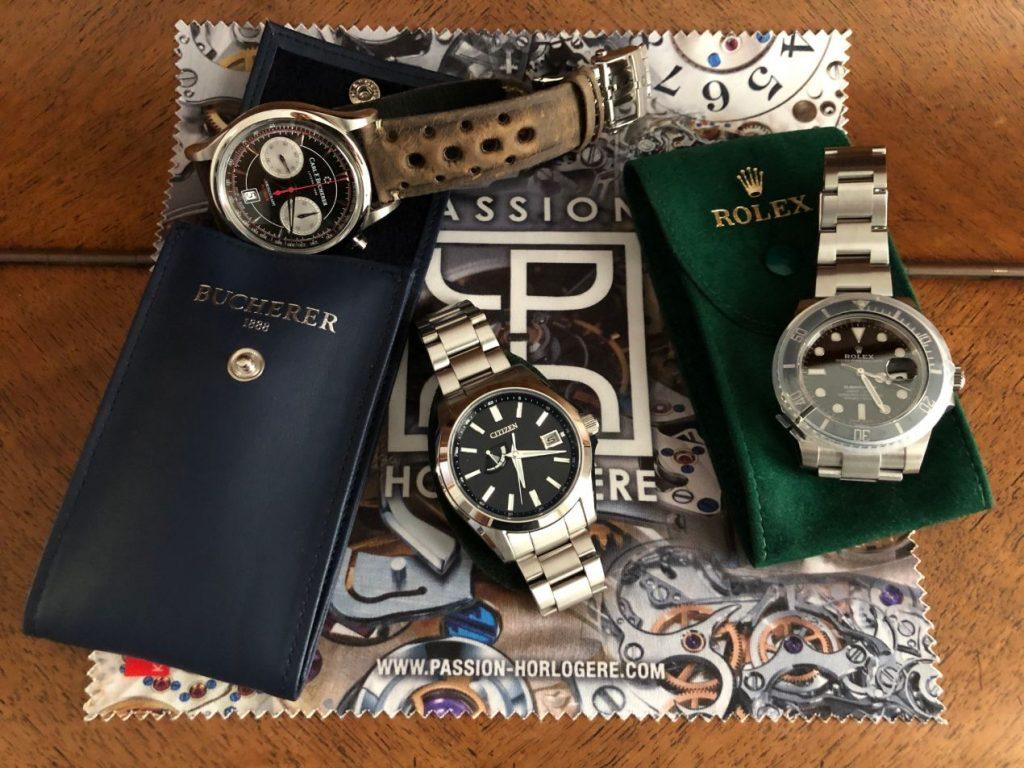 Les pochettes SAV bien connues des collectionneurs de montres