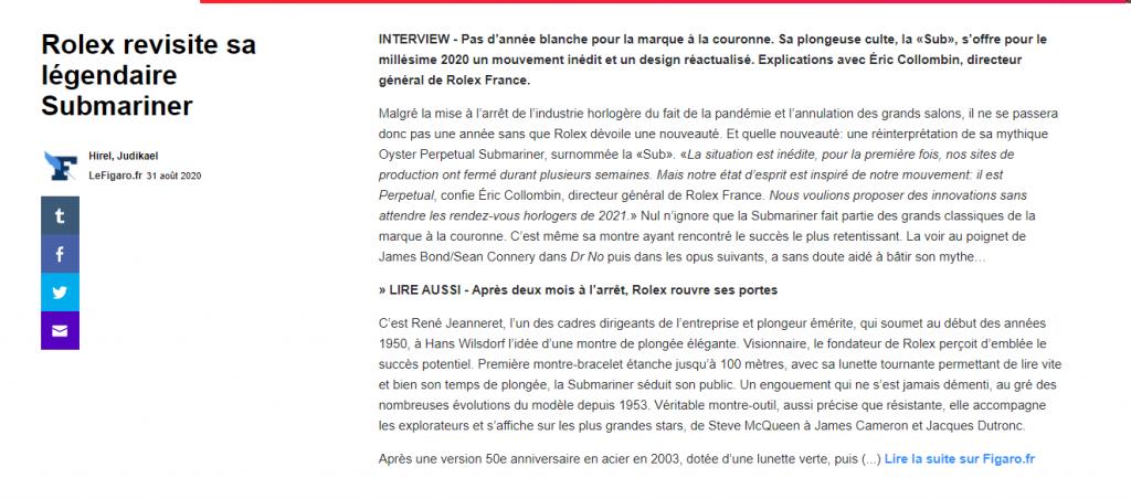 Interview à retrouver sur LeFigaro.fr