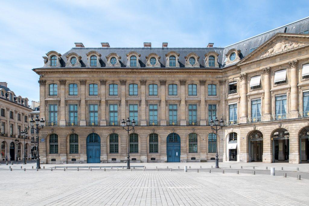 La boutique au 7, place Vendôme à Paris