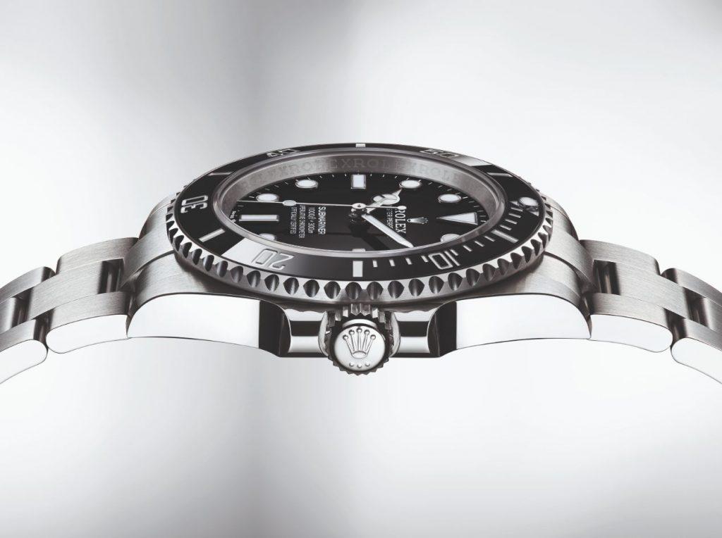 Rolex Submariner côté carrure