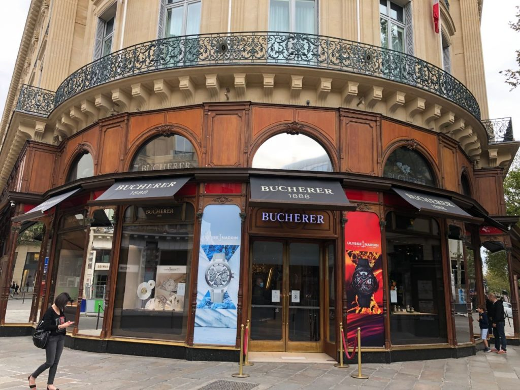 Bucherer Paris, Temple français de l'horlogerie